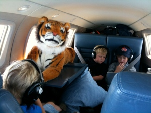 Kids and Tiger